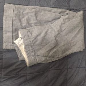 J. Crew Hutton trouser, wide cuffed leg, %100 wool